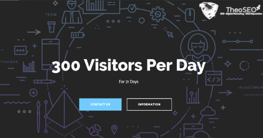 300 Daily Visitors for 1 Month - Worldwide Organic Traffic - Shoutouts and Social Signals