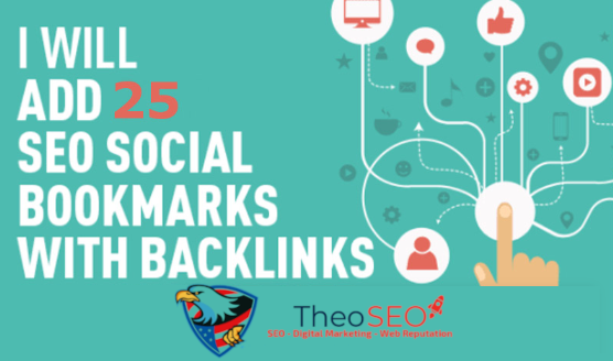 25 Social Bookmarks with Live Links Report - Social Signals Included - White Label Service