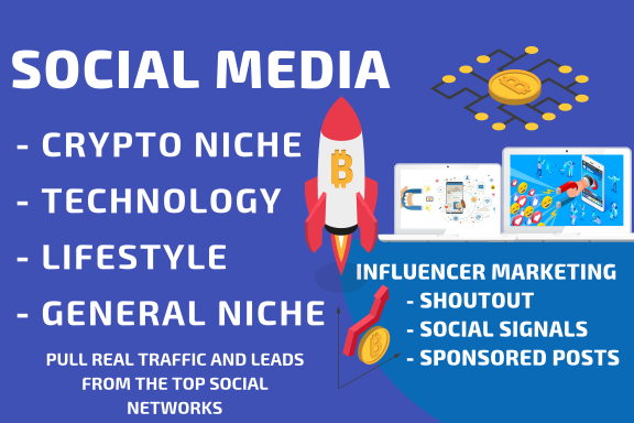 10 Shoutouts Crypto or General Niche or Lifestyle and Fashion Niche - ONLY REAL PEOPLE - GET TRAFFIC
