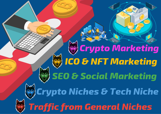 Affordable Crypto and General Niche SEO - 5000 Social Signals - Backlinks,  Traffic,  Shoutouts,  Promo