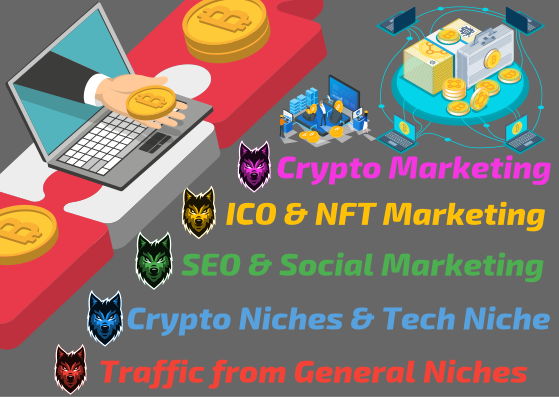 Crypto and NFT SEO Push - 3 KOL Review Videos,  Upload to 100k People,  1M TG Promo,  Social Marketing