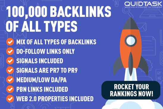 Rank on 1st PAGE 100,000 Signals,  Backlinks,  Video Creation - Traffic Analytics