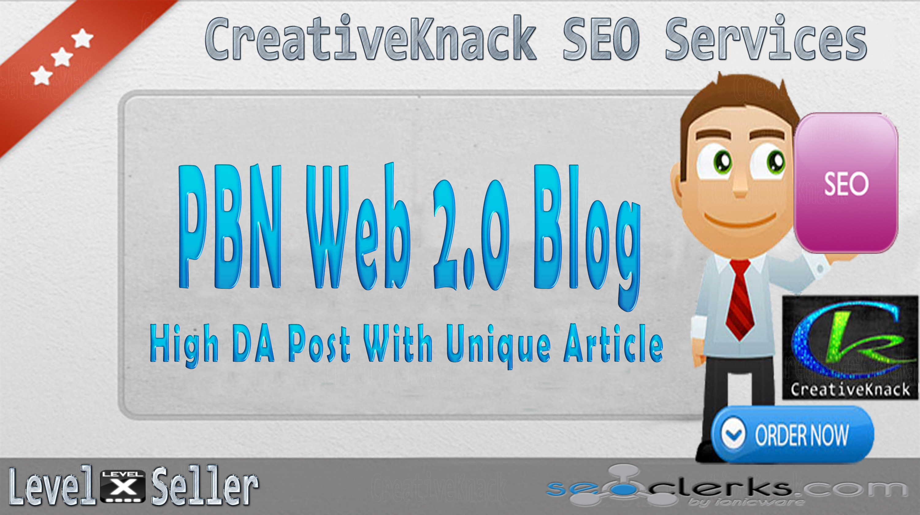 PBN Manually High DA 30+ Web 2.0 Blog Creation with unique article only