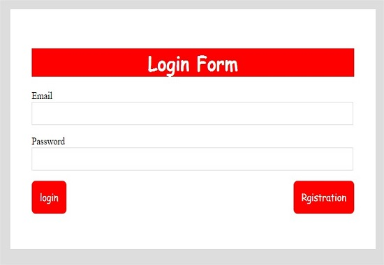 I will create simple looking good login signup in html,CSS form