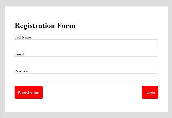 I will create simple looking good login signup in html, CSS form