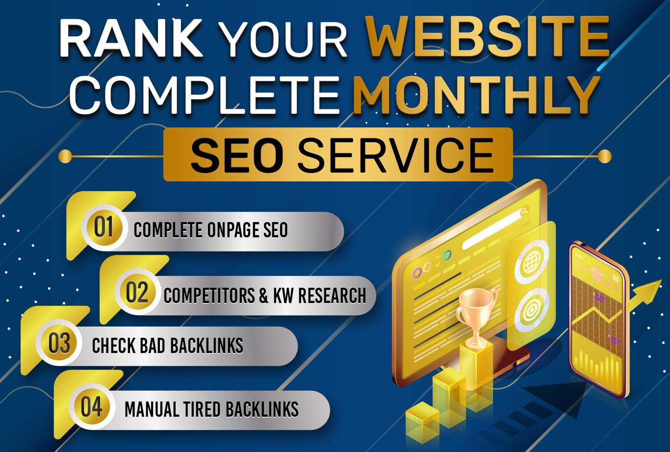 Rank Your Site On First Page With Complete SEO Service