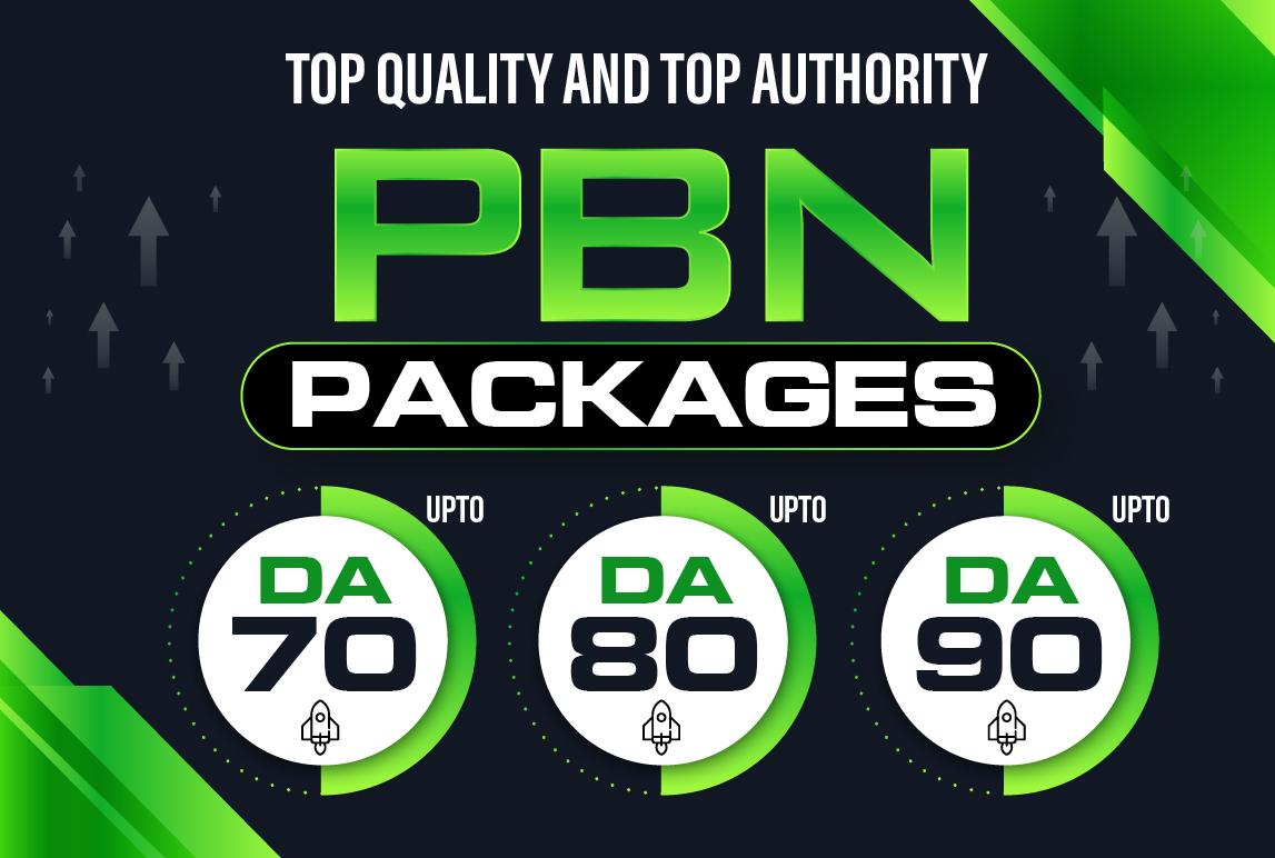 Build 5 HomePage Posts DA 90 Plus PBNs