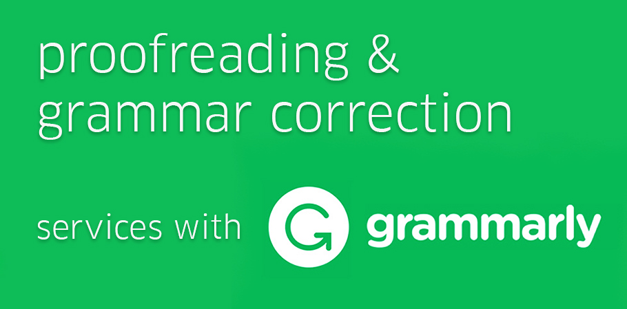 Grammar Correction & Proofreading Service with Grammarly 1000 Words
