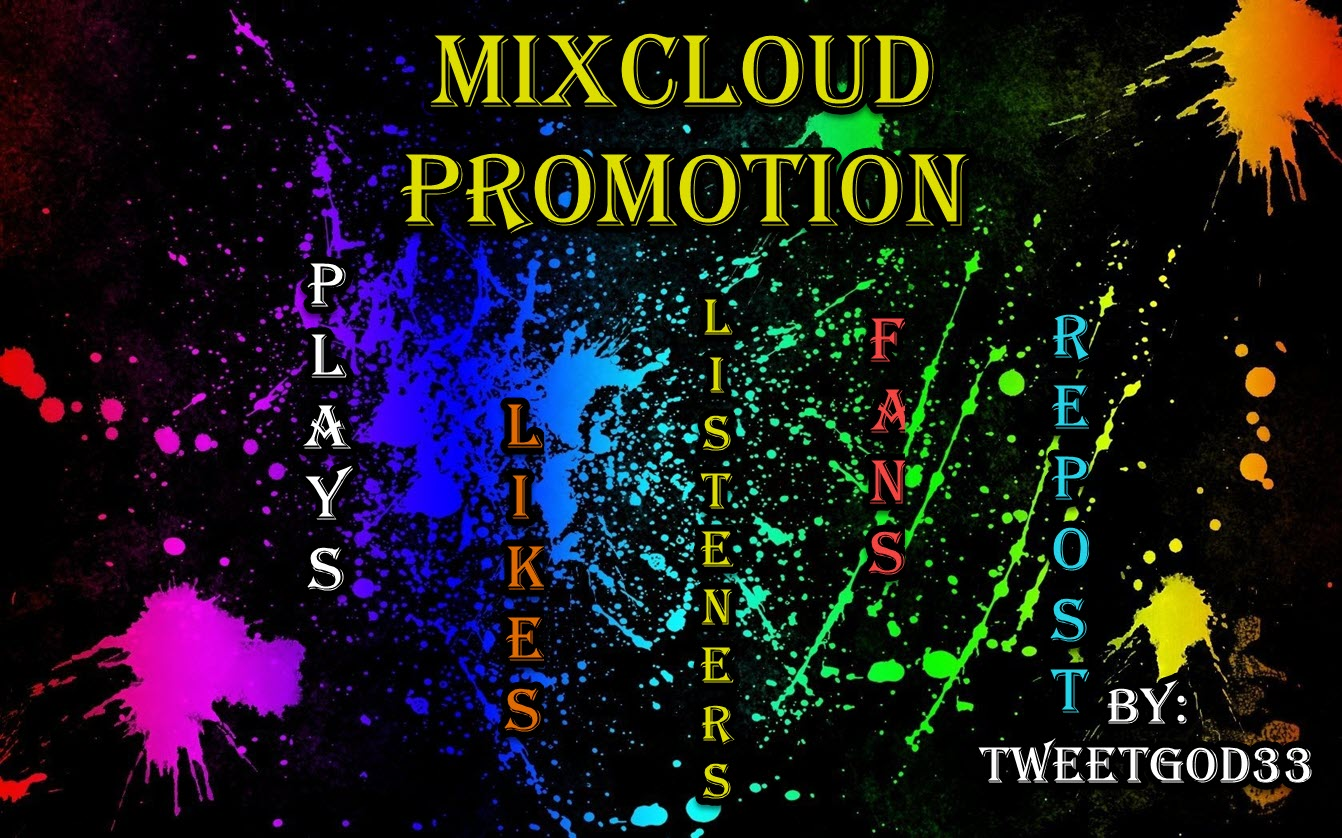 Promote Your MIXCLOUD MIXTAPE To Grow Your Listeners