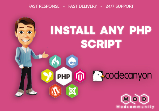 I will install any PHP script On your Shared web hosting,  vps,  or dedicated server