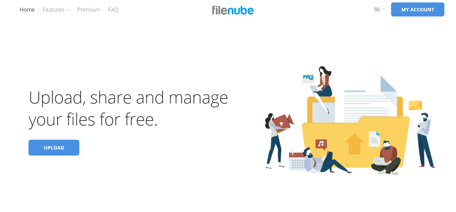 give you a premium promo code for unlimited cloud storage on filenube