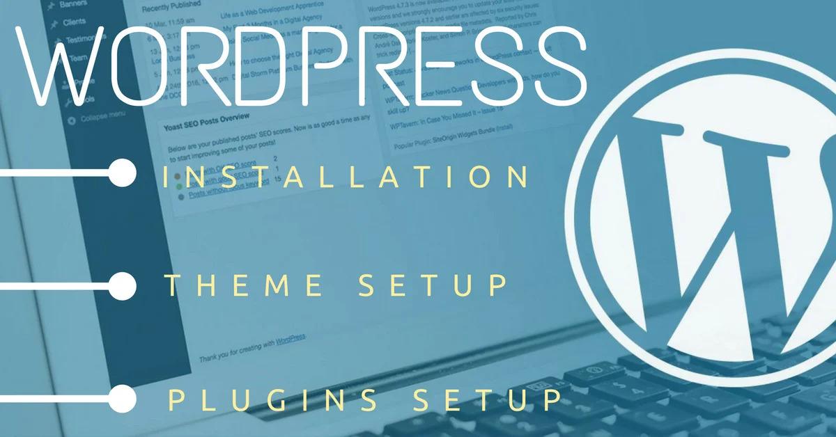 I will install Wordpress theme demo