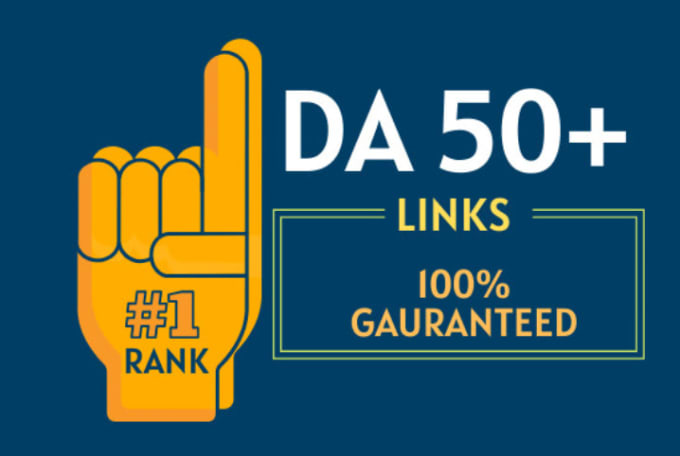 DA 50 to 60 Manually Build 10 UNIQUE HOMEPAGE PBN backIinks