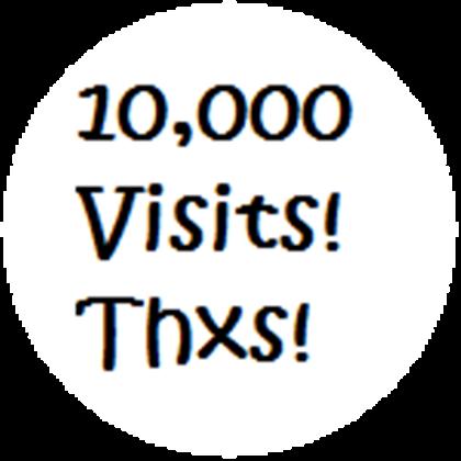 10000 visits for your website or blog