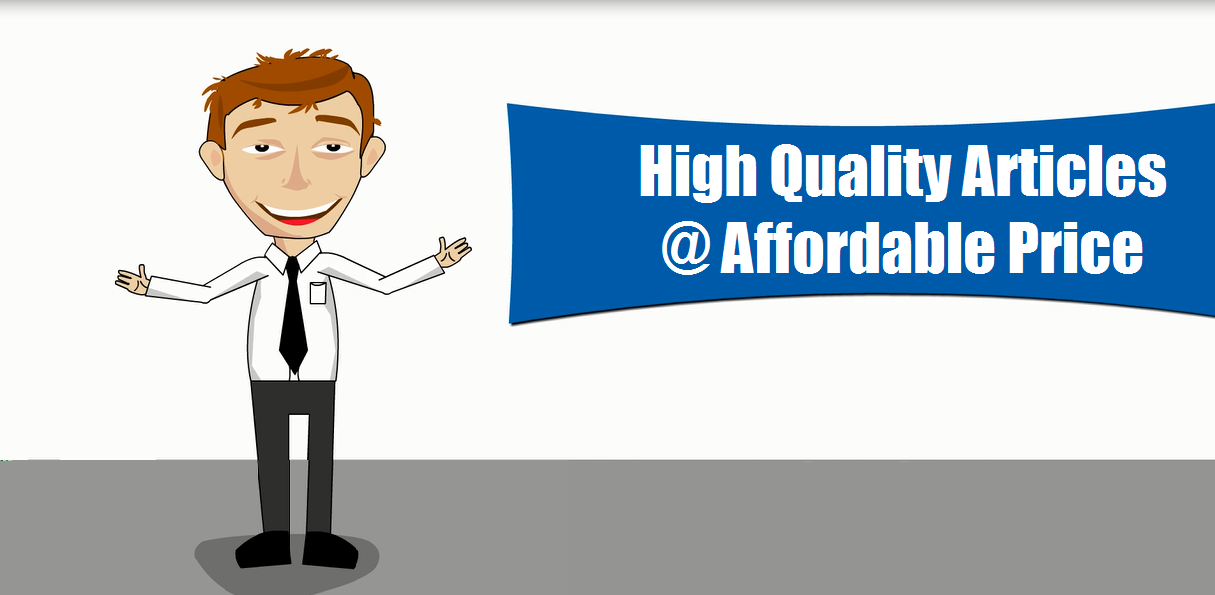 High Quality Articles,  affordable price