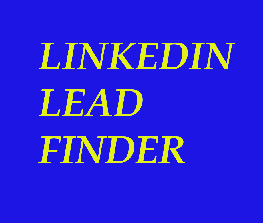 Linkedin Email Scraper - Generates Leads