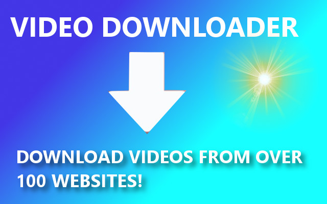 Download videos from over 100 websites on the internet with this awesome video downloader software