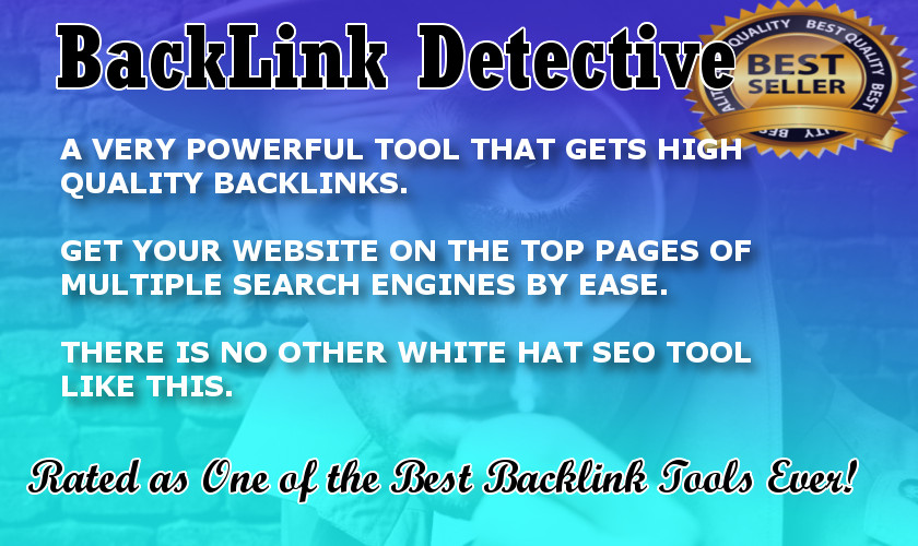 Backlink SEO software - For Quality Backlinks