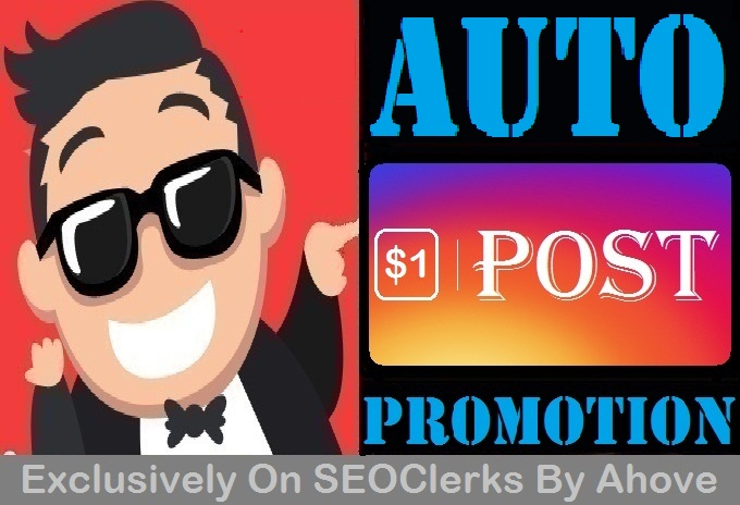Automatic Promotion To Your Upcoming Posts Read Details First