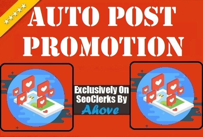 Get Auto Post Promotion To Your Upcoming Posts