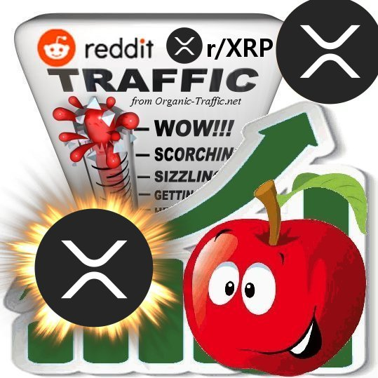 Buy Reddit r/XRP Traffic - Cryptocurrency Traffic for 30 days