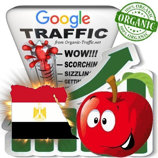 Egyptian Search Traffic from Google.com.eg with your Keywords