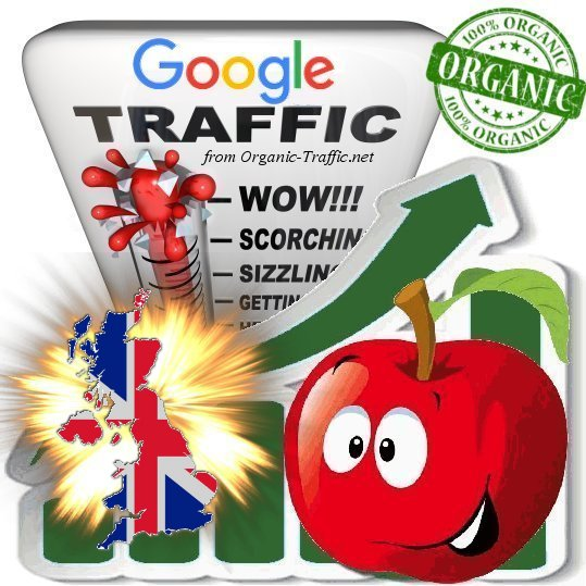 British Search Traffic from Google. co. uk with your Keywords