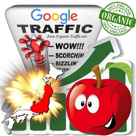 Japanese Search Traffic from Google. co. jp with your Keywords