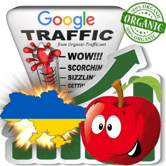 Ukrainian Search Traffic from Google. com. ua with your Keywords