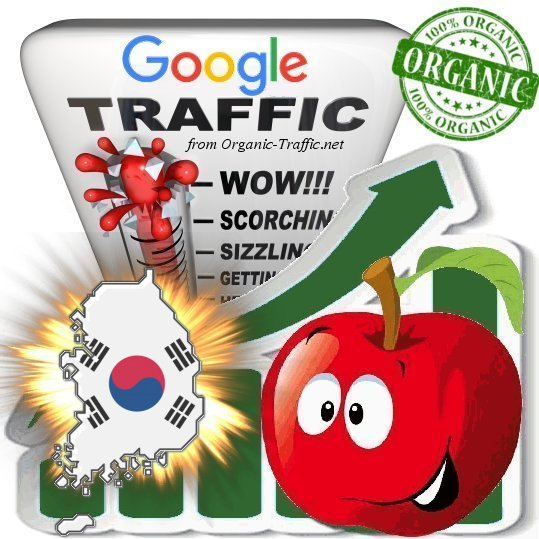 South Korean Search Traffic from Google. co. kr with your Keywords