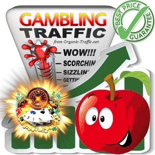 Organic traffic for Gambling sites Casino