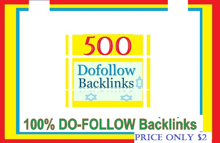 Manage & add 500 + Do-follow Backlinks mix platforms for Your Websites