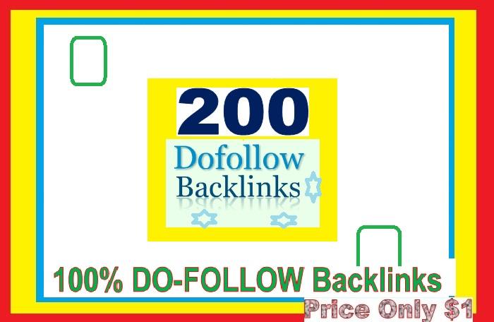 Manage & add 200 Do-follow Backlinks mix platforms for Your Websites