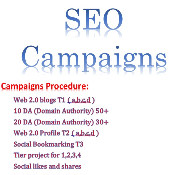 Provide SEO Campaigns Through High Quality Backlinks boost website ranking