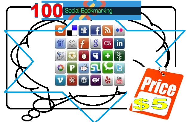arrange 100 Social Bookmark for Your Website within 3 days with Report