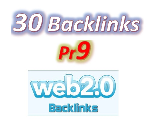 Manage 30 Pr9 Web2.0 Blog article Backlinks for Your Websites