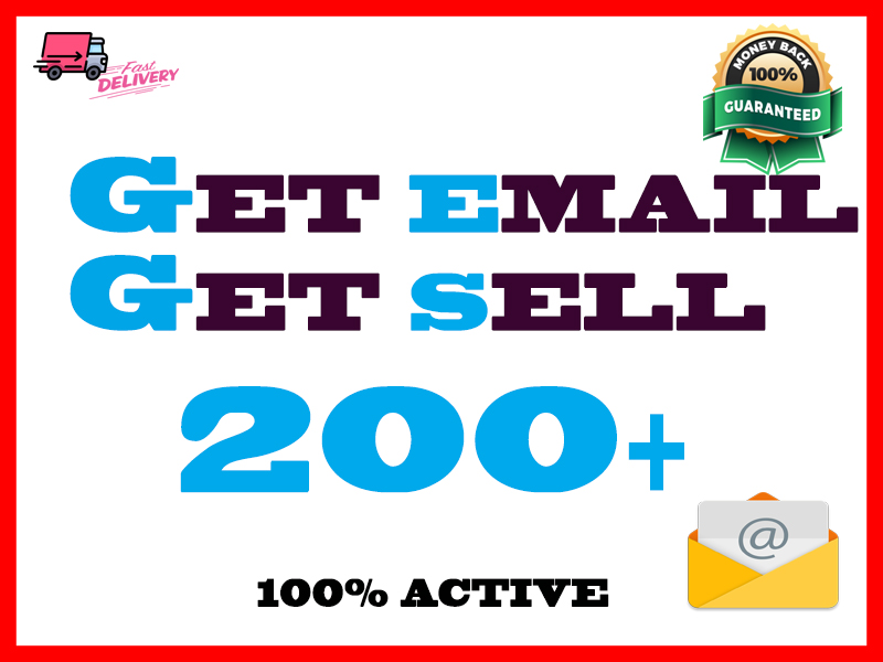 Active 200+ Europe email for sale 2020