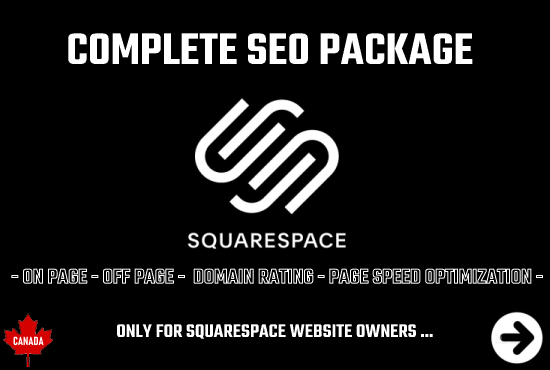 Complete Seo Plan for SquareSpace Website Owners