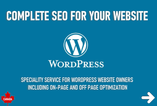 Complete Seo for your WordPress website