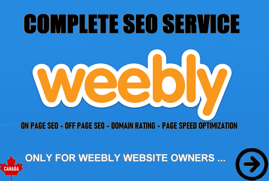 I will optimize your Weebly website for on-page and off-page seo