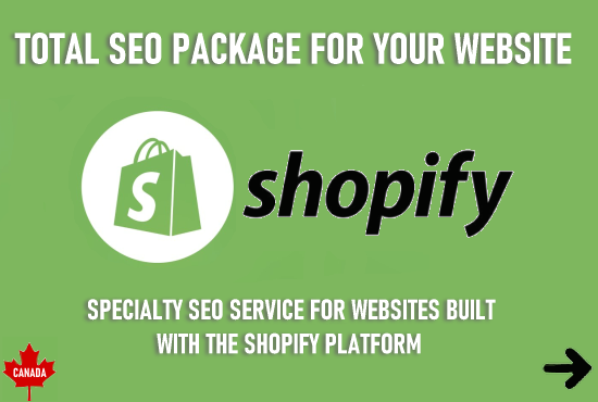 Complete Seo Package for your Shopify website