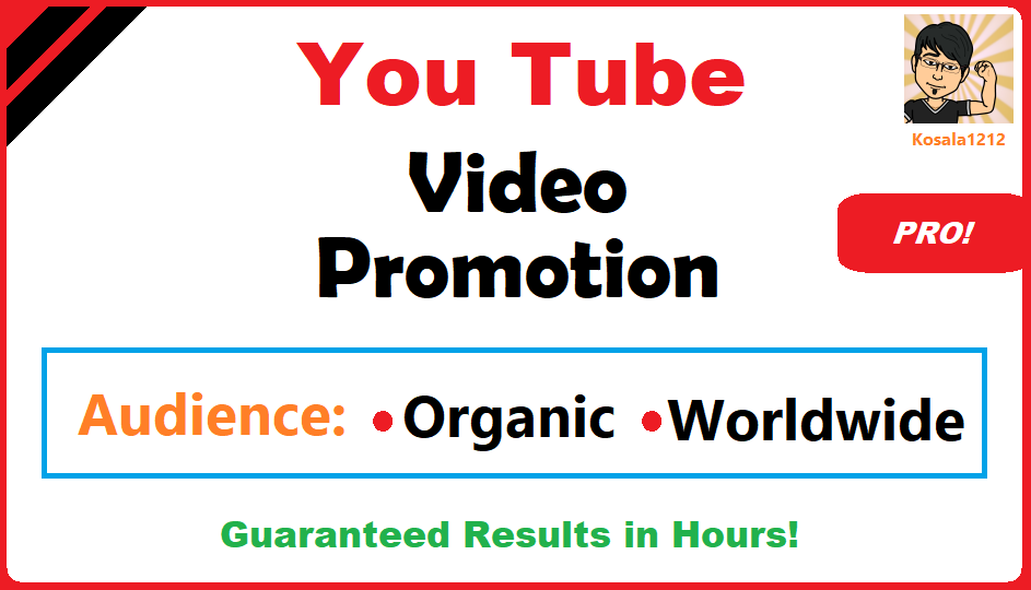 YouTube Video Viral Marketing Promotion Pro Package 2