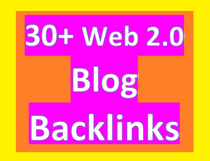 Provide 30 High PR Blog article BACKLINGS for Your Websites