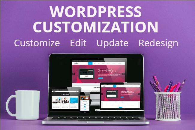I Will Customize,  Rebuild,  Recreate,  Move,  Update And Edit Wordpress