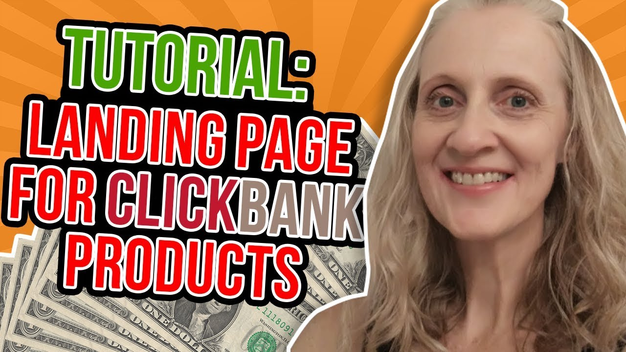 learn you How To Create A Landing Page For Clickbank IN 7 MINS