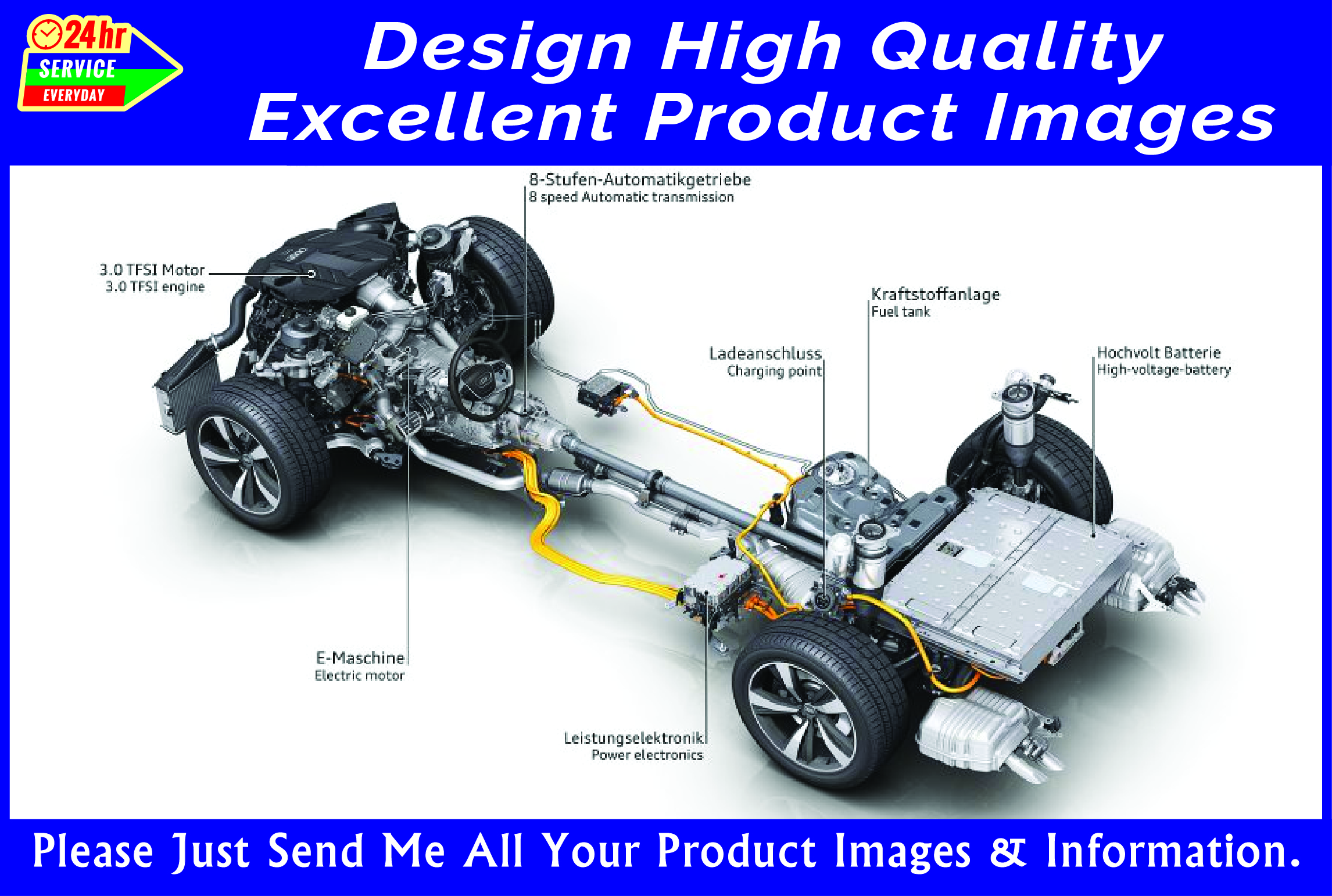 Design product image picture amazon ali express or any shop