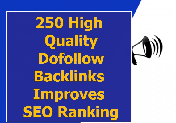 250 high quality Do follow backlinks improves SEO Ranking