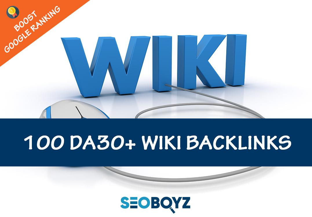 Quality Wiki Backlinks to Boost Google ranking