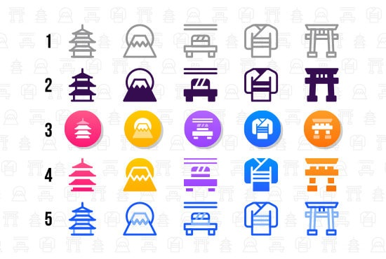 We will design any kind of icons you need