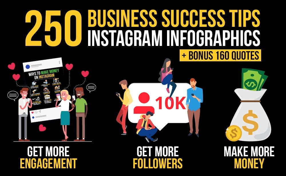 We will design business success tips infographics for Instagram